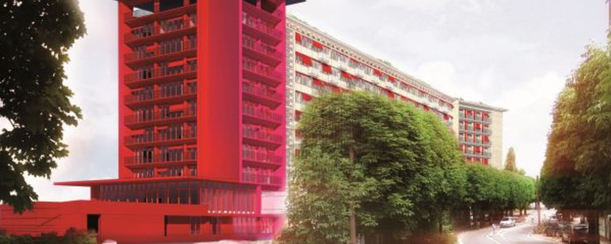 CITE UNIVERSITAIRE JEAN ZAY EN COLLABORATION AVEC JEAN NOUVEL DESIGN
